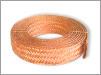 Copper Breaded Wire Rope